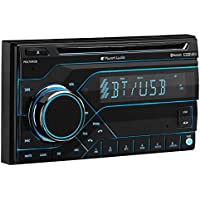 Planet Audio PB475RGB Double Din, Bluetooth, CD/MP3/USB/SD AM/FM Car Stereo, Wireless Remote