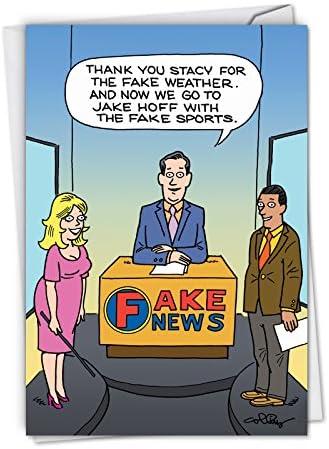 Fake News Report Humorous Envelope