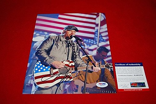 Autographed Toby Keith Red Solo Cup Country Singer Signed PSA/DNA 8x10 Photo 7