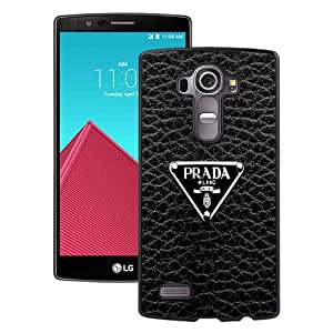 Popular Custom Designed Case For LG G4 With Prada Logo Black Phone Case