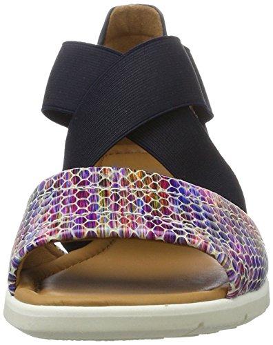 Ara Dames Lederen Sandalen Blauw