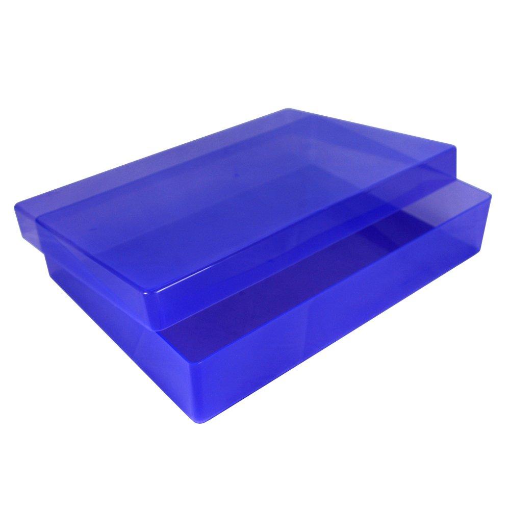 Kunststoff 1 St/ück A4 Rot WestonBoxes Aufbewahrungsboxen