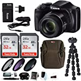 Canon PowerShot SX540 HS Digital Camera with 64GB Deluxe Accessory Bundle