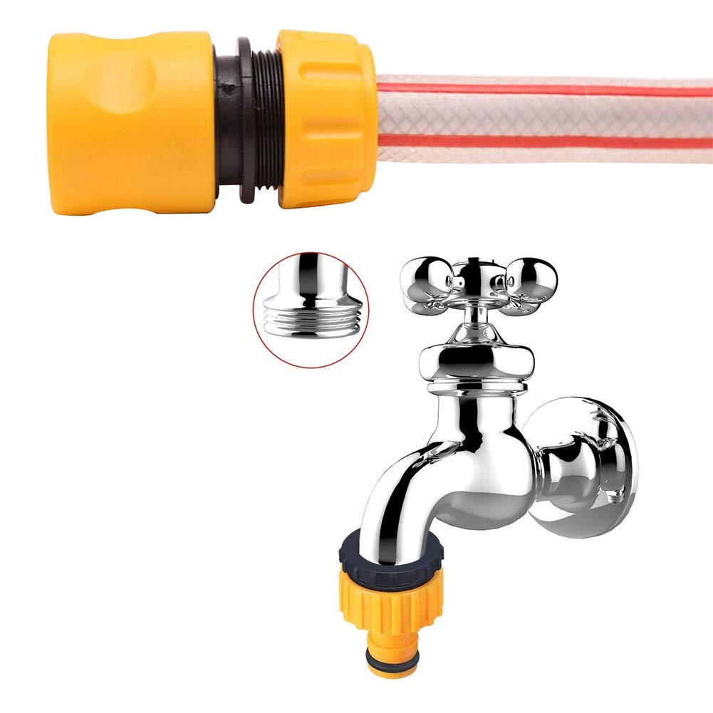 Stecker Adapter Schlauch Wasserleitung Rohr Armatur Kunststoff Hoch Qualität