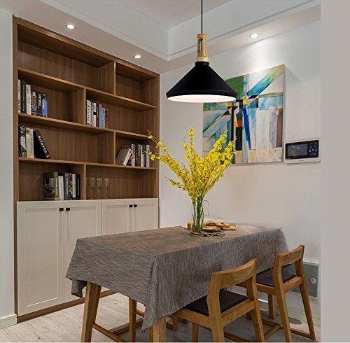 Beakjiful E27 suspension lustre Petit luminaire de restaurant européen, blanc B