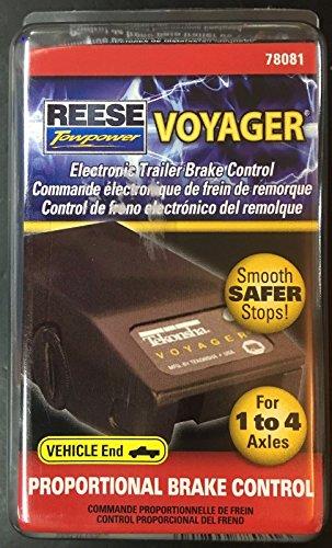 Tekonsha 78081 Voyager Proportional Brake Control (Tekonsha Voyager)