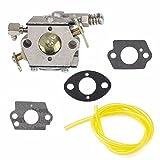 JahyShow Carburetor Fuel Line Repair Gasket Kit for Tecumseh 640347 TM049XA TC200 TC300 Ice Auger 2-Cycle Engine