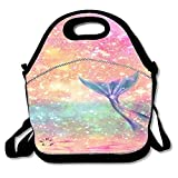 Fashion Insulated Lunch Bag Tote Reusable Waterproof School Picnic Carrying Gourmet Lunchbox Container
