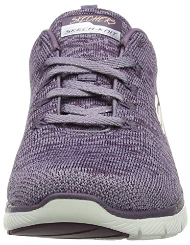 Plum Fitness Violet Femme Plum 0 Flex Appeal Skechers Chaussures 2 de Upvaq1qw