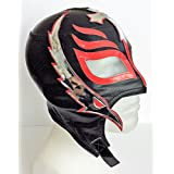 Rey Misterio Jr. black mexican wrestling luchador mask by Fight Mask