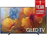 Samsung QN65Q9 65-Inch 4K Ultra HD Smart QLED TV (2017 Model) with 1 Year Extended Warranty