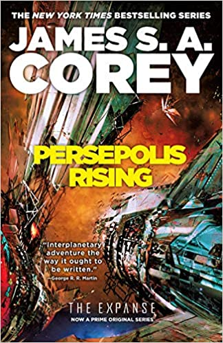 The Expanse #7. Persepolis Rising book cover