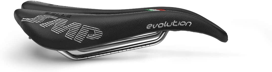 Made in Italy Black Selle SMP  Plus Model Bicycle Saddle Seat