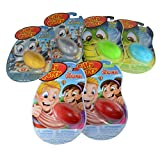 Silly Putty Variety Pack of 6 Original Metallic and Glow in the Dark