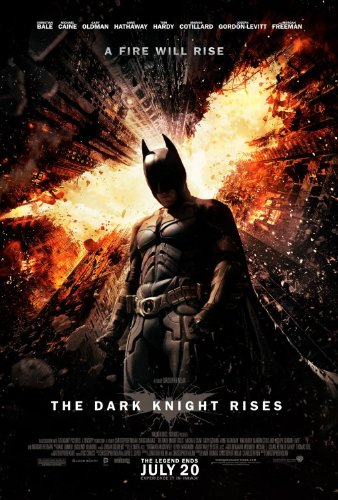 DARK KNIGHT RISES FINAL 11.5x17 INCH PROMO MOVIE POSTER by Super Posters ()