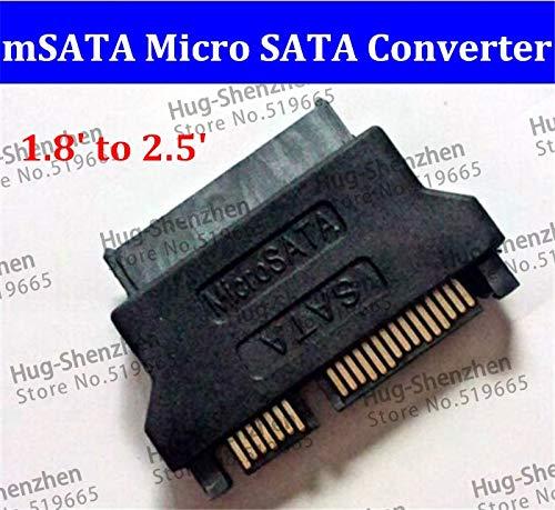 Jammas Brand new 1.8` to 2.5` SSD mSATA micro SATA to SATA converter adapter micro sata cable - (Standard: SATA)