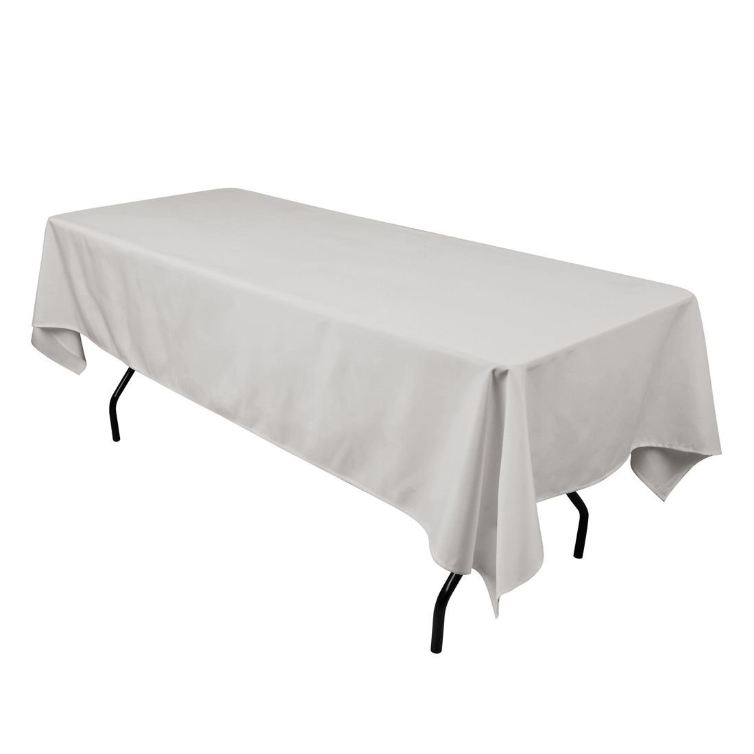 LinenTablecloth 60 x 102-Inch Rectangular Polyester Tablecloth Beige LinenTablecloth.com 60102-010121