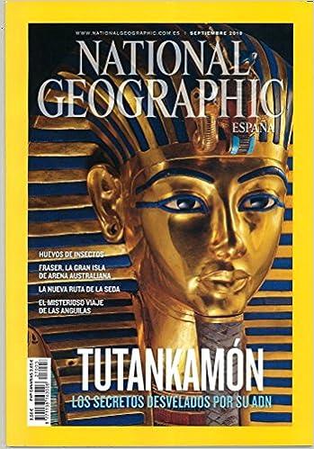 National Geographic España. Tutankamón. Los secretos desvelados por su ADN. Vol. 27. Núm. 3: Amazon.es: Diversos autores: Libros