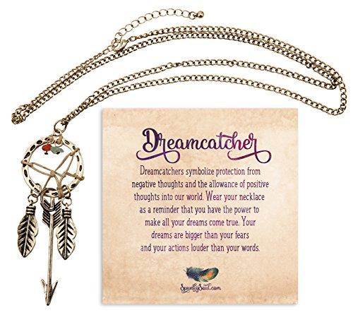 Bohemia Dreamcatcher Pendant Feather Necklace