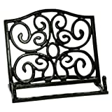cast iron cookbook stand - Anchor Hocking Venetian Bronze Cast Iron Cookbook Holder
