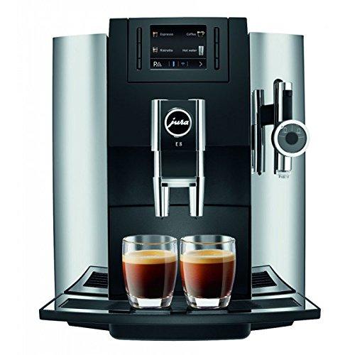 Jura E8 Automatic Coffee/Epresso Maker (Chrome)