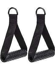 TDDL 2 stuks eenhandsgreep voor weerstandsbanden, kabeltrekgreep, weerstandsbanden, fitnesshandgrepen, fitnessbanden, fitnessband, siliconen handgrepen voor triceps, training, rope, yoga, stretch