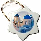 3dRose orn%5F149764%5F1 Greece Santorini...