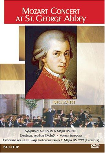 Mozart Concert at St George Abbey / Normandy Orchestral Ensemble, Philippe de Petris, Anne-Laurence Savin, Elisabeth Vidal