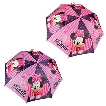 MINNIE MOUSE Paraguas automático - surtido rosa/violeta