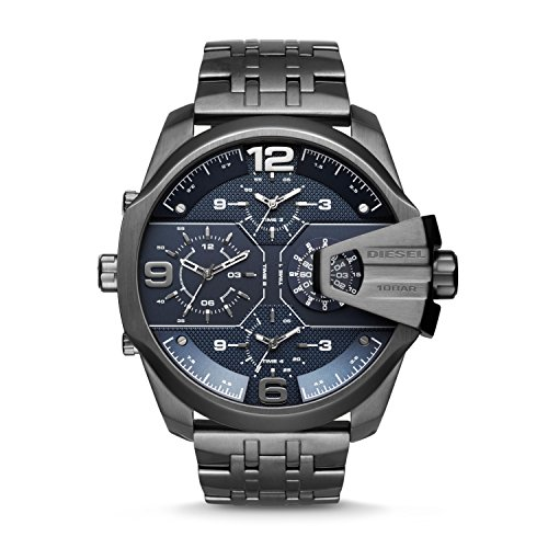 Diesel Men's DZ7392 Uber Chief Gunmetal Watch