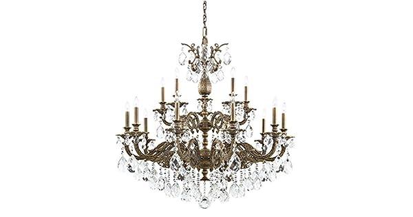 Amazon.com: Schonbek 5685-22SH - Lámpara de araña con ...