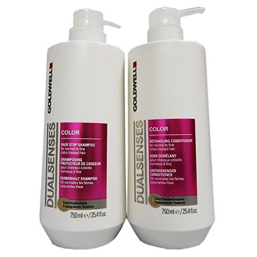Price comparison product image Goldwell Dualsenses Color Shampoo & Conditioner Duo (25.4 oz each)