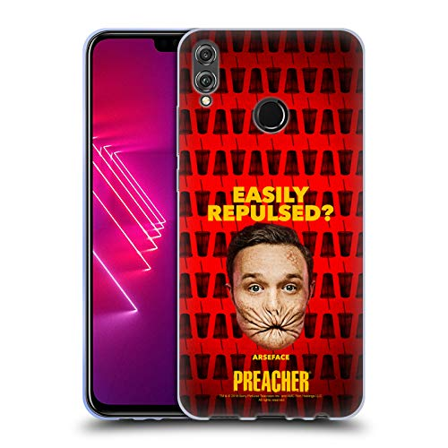 Official Preacher A Face Season 3 Character Art Soft Gel Case for Huawei Honor 8X / View 10 Lite