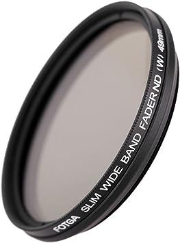 Andoer 49mm Slim Fader Variable ND Filter Adjustable Neutral Density ND2 to ND400