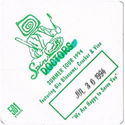 SPIN DOCTORS Gin Blossoms CRACKER Summer Tour 1994 BACKSTAGE PASS Dated