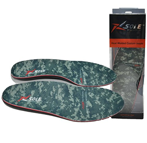 Price comparison product image Foot disease prevention Heat Molded Custom Insoles arch support (US 10)