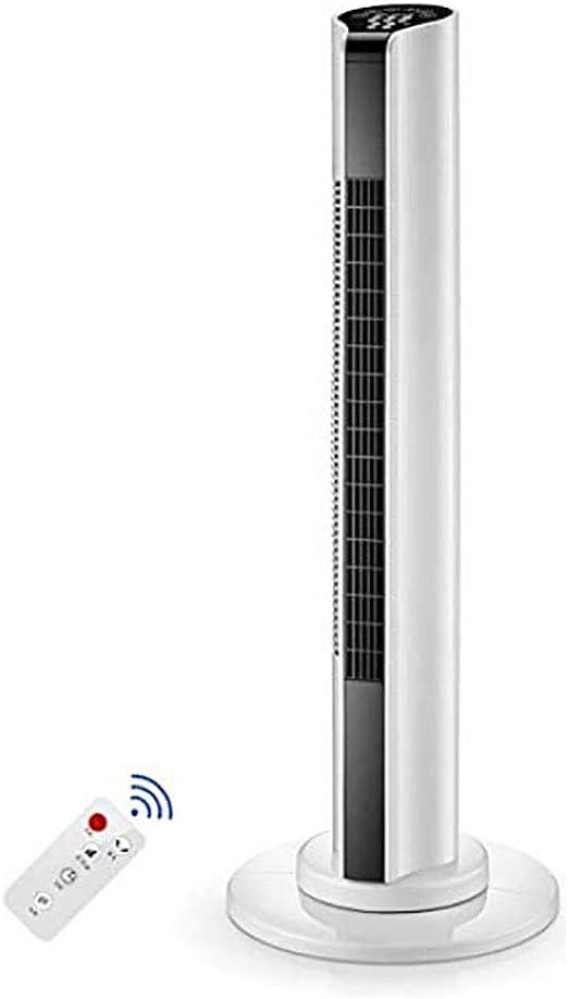 Ventilador De Aire AcondicionadoAfriador De Aire Ventilador Sin Aspas Ventilador De Torre Oscilante De Enfriamiento Con Control Remoto Y Temporizador Temporizador De ...