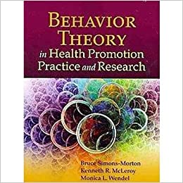Book Behavior Theory in Health Promotion Practice and Research