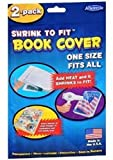 Shrink to Fit Book Covers, One Size Fits All, Heat