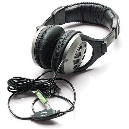 Inland Dynamic Stereo Headphones with Volume Control WLM (Inland Store)