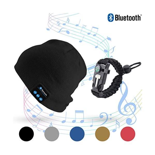 a8f84e4e15b Stone   Pine Bluetooth Beanie Hat Gift Set with Free Emergency ...