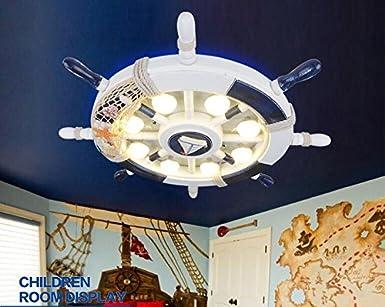 Illuminazione Led Camera Da Letto : Gh stanza di timone creativo bambino soffitto illuminazione led