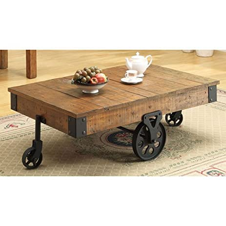 Amazoncom Coaster Country Style Coffee Table Kitchen Dining