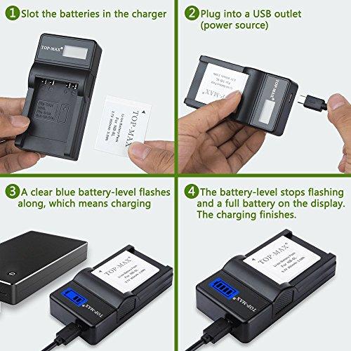 SX710 HS SX610 HS SX700 HS Ex-Pro Camera  Battery NB-6L for Canon SX520 HS