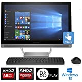 HP Pavilion 24-b010, 23.8 Full HD Touch-screen, AMD A9, 8GB, 1TB, All-in-One (Certified Refurbished)