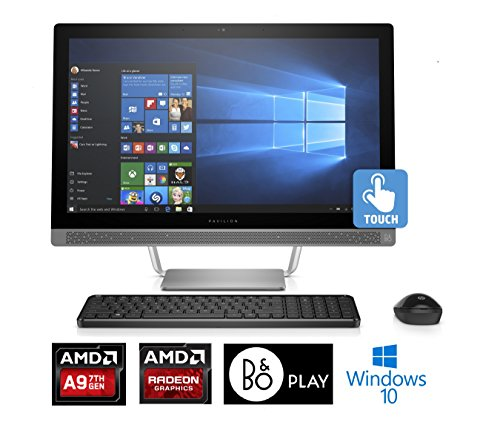 Price comparison product image HP Pavilion 24-b010,  23.8 Full HD Touch-screen,  AMD A9,  8GB,  1TB,  All-in-One (Renewed)