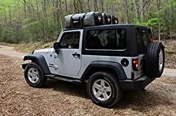 Rightline Gear 100D91 Grey/Black 4.3 cu. ft. 4x4 Duffle Bag for Jeep Wrangler