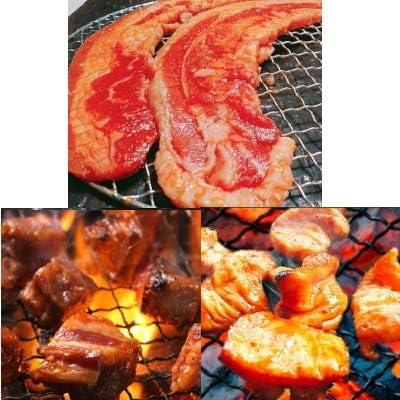冷凍で届く 業務用でお得なユーエイエムの焼肉・バーベキューセット (味付きセット(1.5kg))