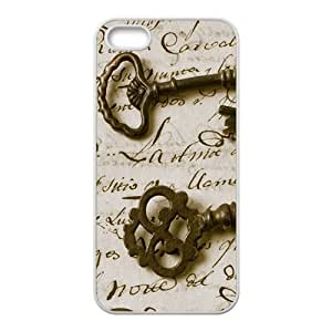 Artistic key design fashion phone case for iPhone 5s