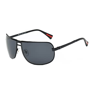 78f02607742 DONNA Oversized Sports Sunglasses with Big Wrap Around Lens and Double  Bridge for Driving Golf Motorcycle